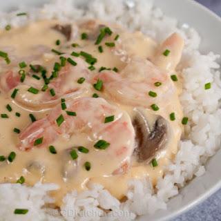 Slow Cooker Shrimp Newburg