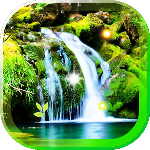Waterfalls HD live wallpaper LOGO-APP點子