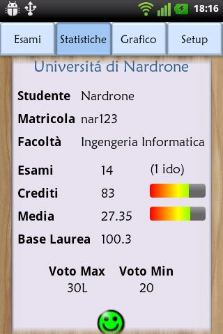 Esami Universitari - screenshot