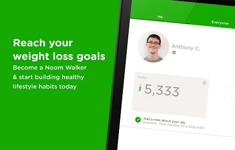 Noom Walk Pedometer- screenshot thumbnail