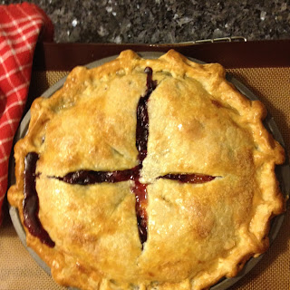 Apricot-Blueberry Pie with Coriander
