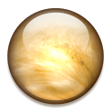 Planet Venus 3D Live Wallpaper icon