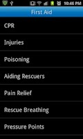 Screenshot of Advanced First Aid