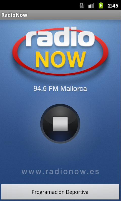 RadioNow Mallorca- screenshot