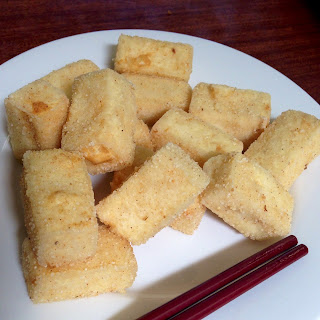 Salt and Pepper Tofu.