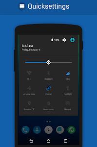 BLUE MATTE CM12/CM11 THEME v2.0.1