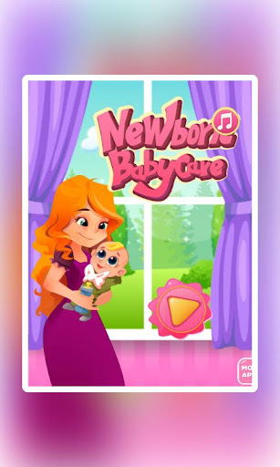 NewBorn baby Care:Kid Mom game