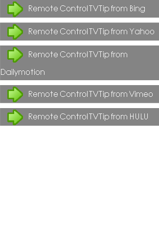 Remote Control TV Tip