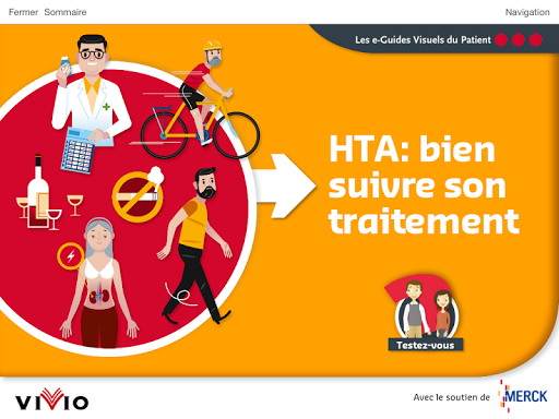 Hypertension: e-Guide Visuel