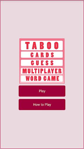 Taboo Trainer