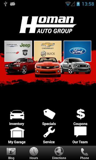 【免費交通運輸App】Homan Auto-APP點子
