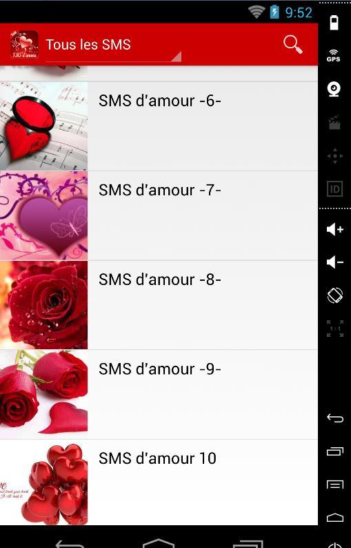 sms sensuel envoyer pour votre amour.