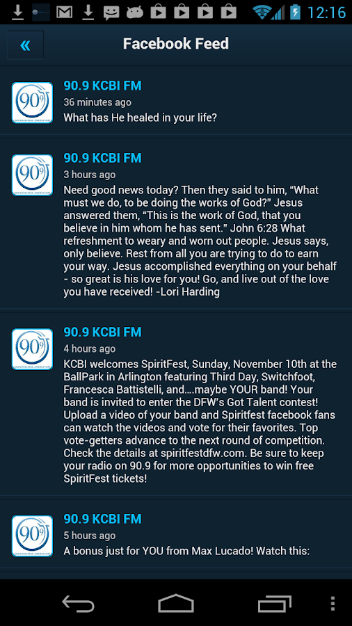 93.9 KCRN - screenshot