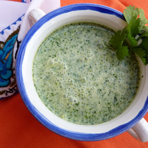 Cream of Coriander Soup