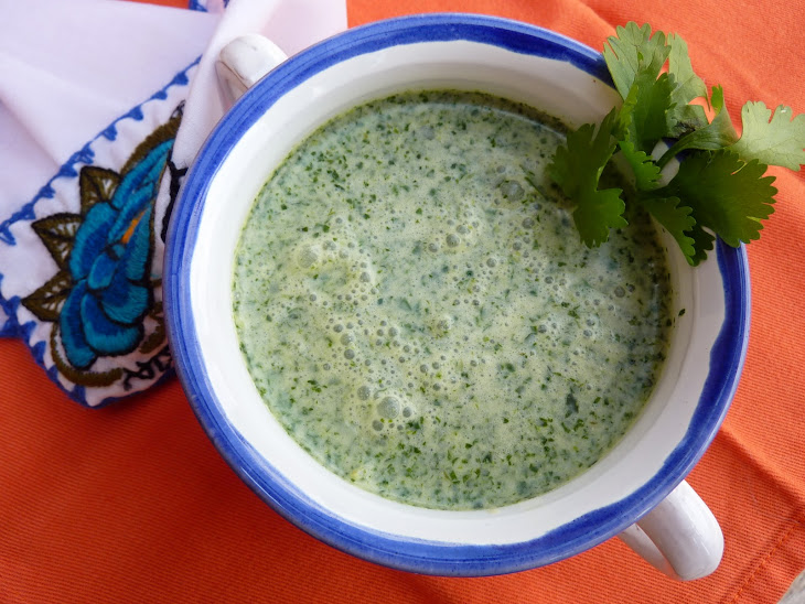 Cream of Coriander Soup