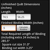 Bias Binding Calculator