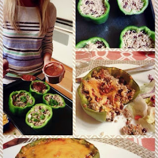 21 Day Fix Stuffed Bell Peppers