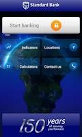 Screenshot of Standard Bank Mobile Banking