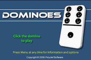 Screenshot of Dominoes