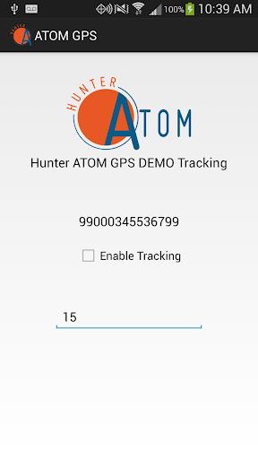 Hunter ATOM GPS Tracking Demo