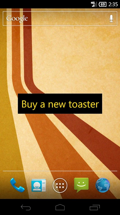 toastr Pro- screenshot