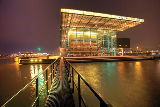 Muziekgebouw-Amsterdam-Holland - The Muziekgebouw (Concert Hall) in Amsterdam, Netherlands.