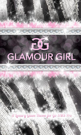 Glamour Pink Luxury Theme SMS★
