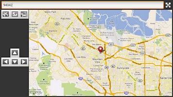 Screenshot of Maps on TV