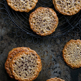 Almond Lace Sandwich Cookies.
