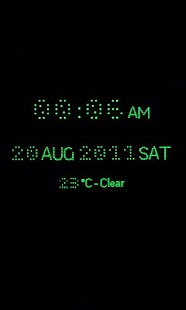 RD Night Clock - screenshot thumbnail