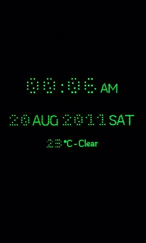 RD Night Clock - screenshot
