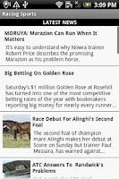 Screenshot of Racing Sports