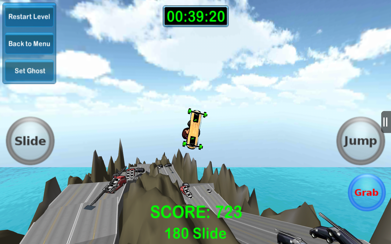 Mad Freebording Snowboarding F - screenshot