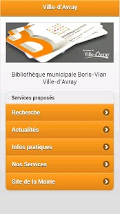 Médiathèque Ville-d'Avray- screenshot thumbnail