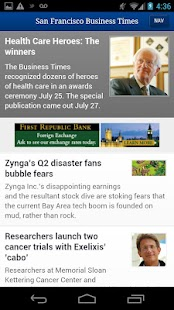San Francisco Business Times - screenshot thumbnail