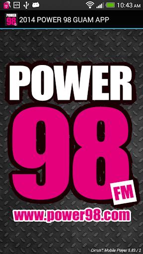 Power 98 Guam App