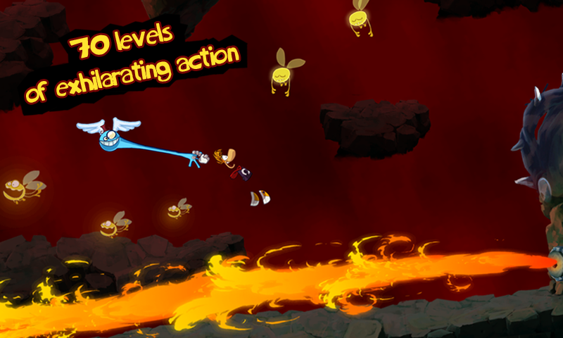 Rayman Jungle Run screenshot #8