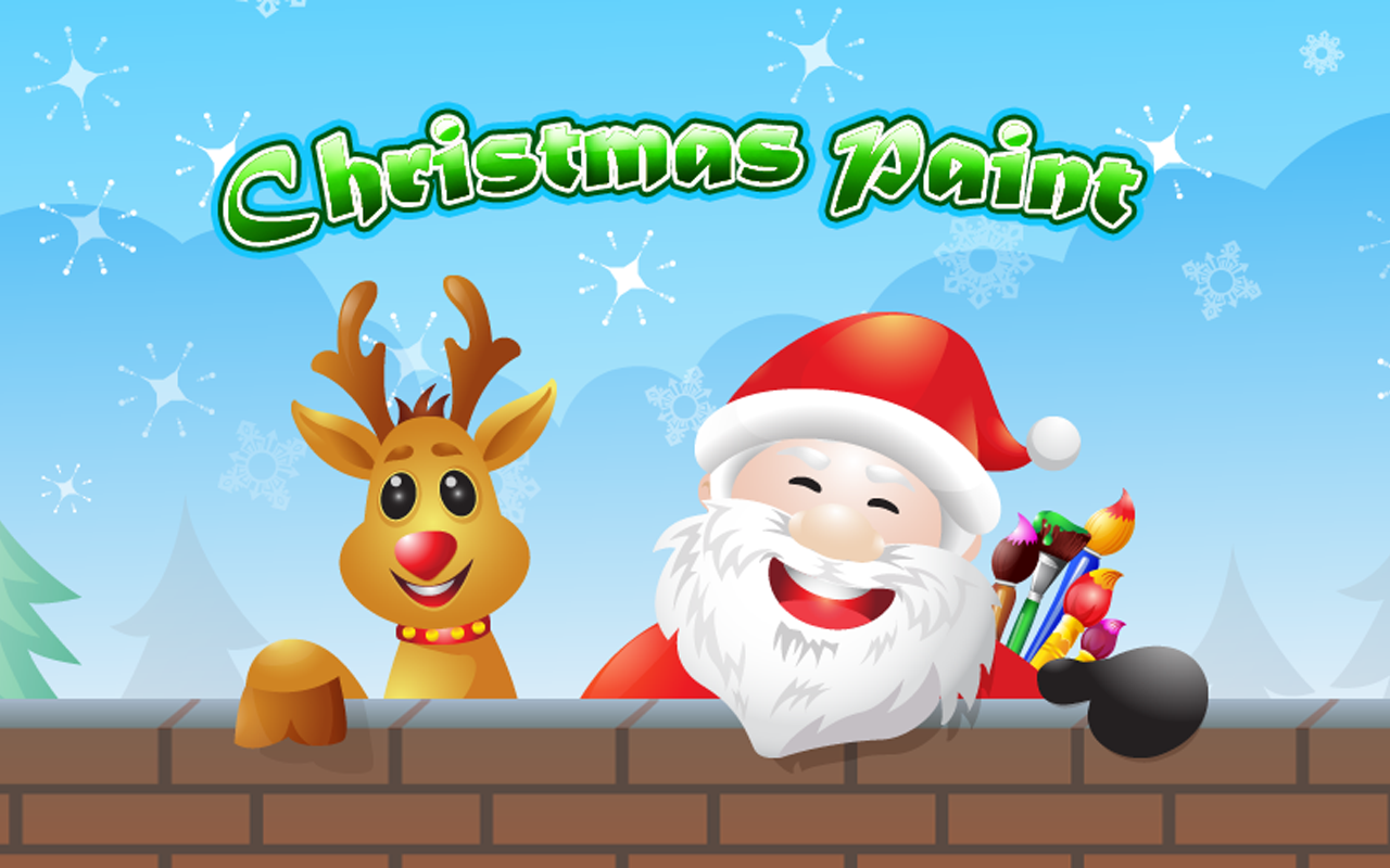Kidoko Christmas Paint Free- screenshot