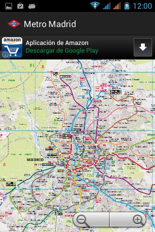 Metro Madrid offline