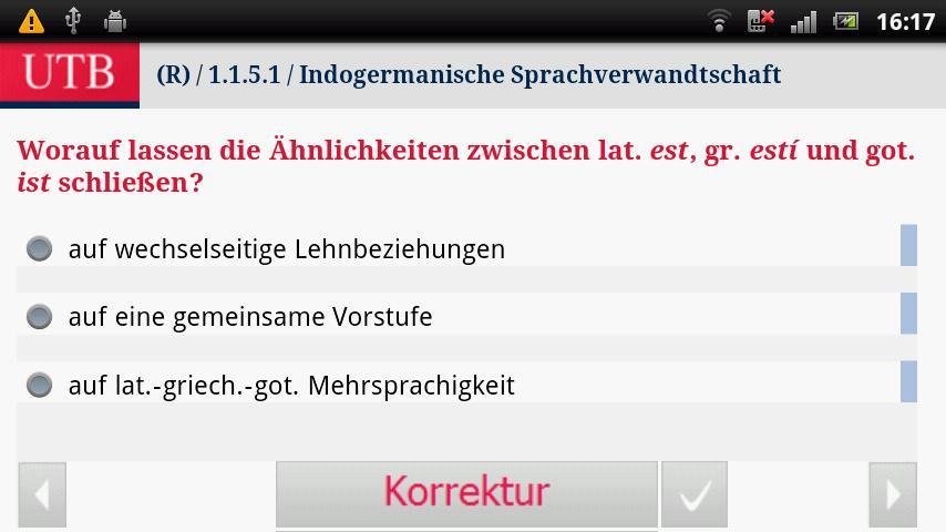 Alt- und Mittelhochdeutsch- screenshot