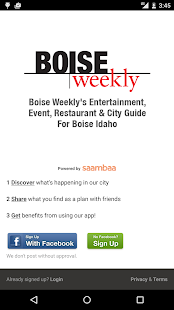 On The Town - Boise Events- screenshot thumbnail
