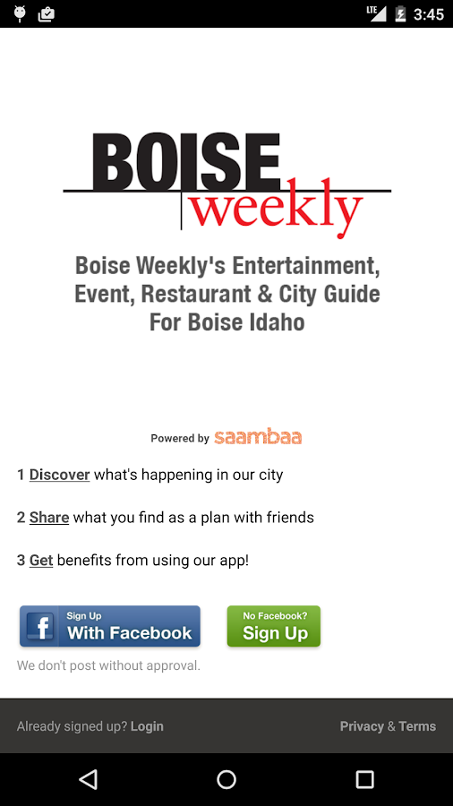 On The Town - Boise Events- screenshot