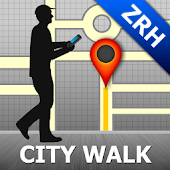 Zurich Map and Walks