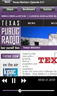 TPR Public Radio App - screenshot thumbnail