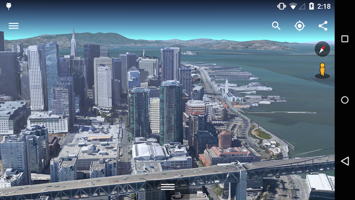#5. Google Earth (Android)