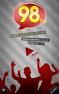 Rádio 98 FM Campo Belo - MG- screenshot thumbnail
