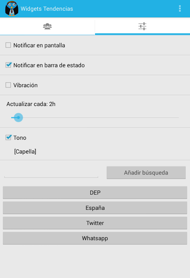 Tuit Útil GOLD (Twitter tools)- screenshot