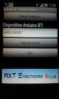 Screenshot of Arduino BT Communication