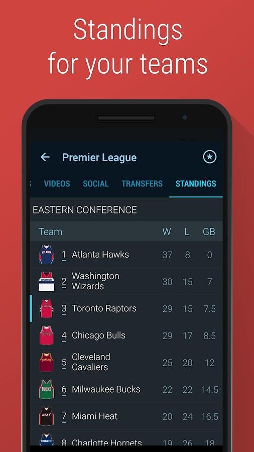 365Scores: Live Sports Scores - screenshot
