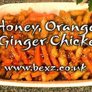 Chinese Style Honey, Orange and Ginger Crispy Chicken